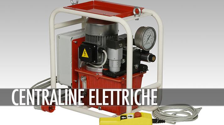 centraline a motore elettrico
